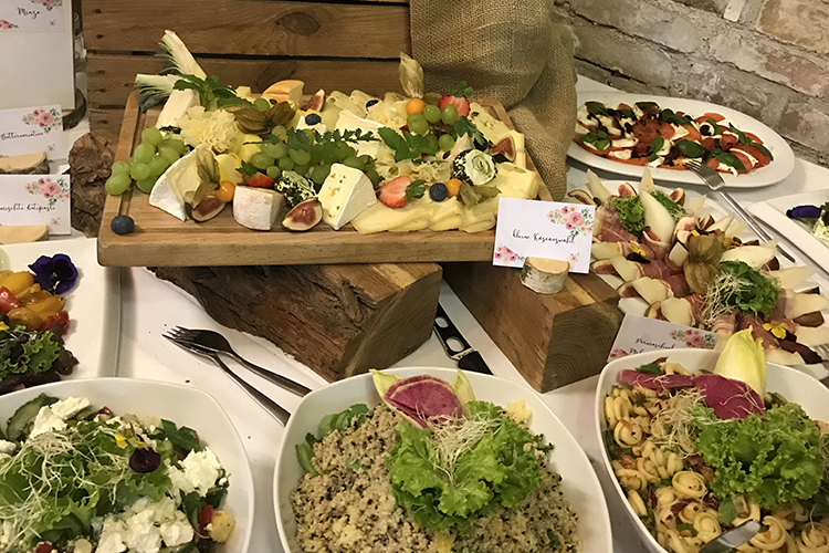 PaCoS-Catering Rustikales Buffet