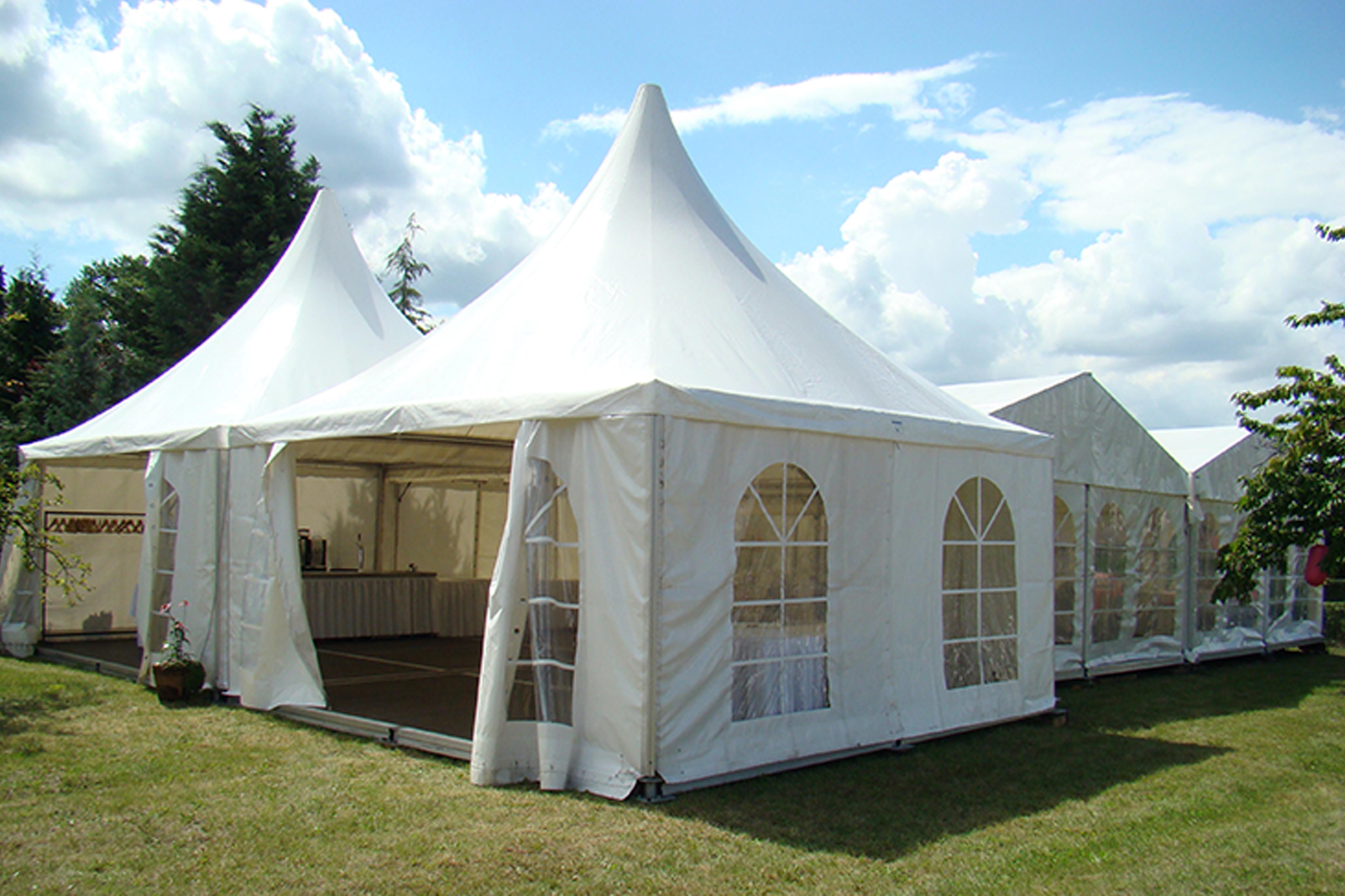PaCoS-Catering Zelte Ausstattungen